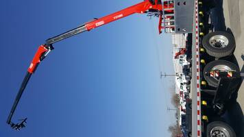 New Wallboard Crane Fassi F375SE.14 Features 420-degree Rotation
