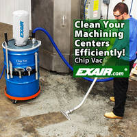 EXAIR's New Chip Vac Available in 5, 30, 55 and 110 Gallon Sizes