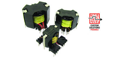 New RM6 and RM10 Transformer Series Available with Single or Dual 5V, 12V or 24V Outputs