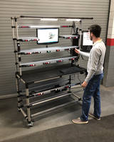 Creform Introduces Creform Workstation Suitable for Assembly Operations to Control Process Flow and to Reduce Errors
