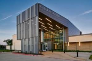 New Custom-fabricated Metal Panels Enable Architects to Design and Create a Structure Reminiscent of Audio Waves