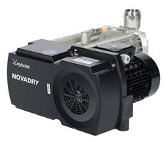 New NOVADRY Vacuum Pump Series Ideal for Packaging of Cold Products