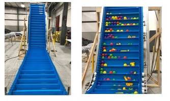 New Flighted Conveyors Provide Consistent Incline When Sizes Vary