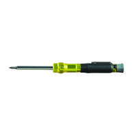 Klein Tools Offers Multi-Bit Pocket Screwdrivers with Corrosion-Resistant Anodized Aluminum Plated Barrel