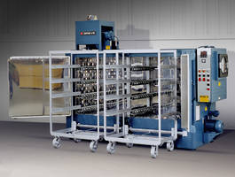 New Modified Shelf Oven Used for Pre-heating Bulk Friction Material in Trays