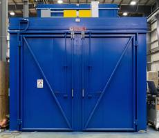 Wisconsin Oven Ships Electrically Heated Composite Curing Batch Oven to Aerospace Industry