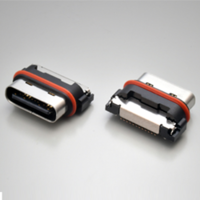 New USB Type-C Waterproof Connectors Available in Both Long and Short Shell Configurations