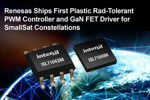 New ISL71043M PWM Controller and ISL71040M GaN FET Driver for DC/DC Power Supplies