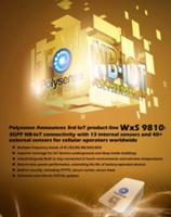 Latest WxS 9810 IoT Sensor Supports Multiple Bands of B1/B3/B5/B8/B20/B28
