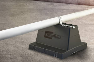 New Rooftop Pipe Support Provides Insulation, Vibration Isolation and Roof Membrane Protection