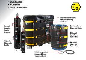 New ATEX Heaters Features Temperature Controlling Range up to 450 Degree Celsius