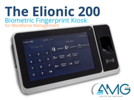 AGTIme Introduces Elionic Biometric Self-Service Kiosk That Can Store Up to 200,000 Transactions