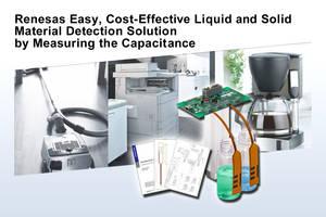 New Touch Key MCU Feature a Capacitive Touch Sensor Unit Specialized for Capacitance Measurement