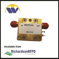 New WBA0180210A Features 1.25:1 VSWR and 50 Ohm Impedance