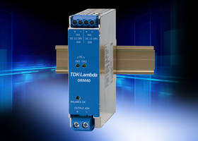 TDK Launches DRM40 Series Redundancy Module with Two Isolated DC Good PhotoMOS Relays