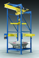 Flexicon Introduces BFC Series BULK-OUT Bulk Bag Discharger with Cantilevered I-Beam