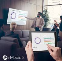 Crestron Presents Latest AirMedia Wireless Presentation Software That Allow Both Local and Remote Participants to See Content