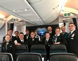 WestJet's Dreamliner Takes First Transatlantic Flight