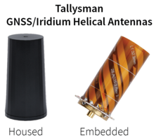 New Range of Helical Antennas Available in Housed and Embedded OEM Versions