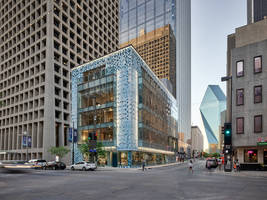 Ellison Doors Ideal for 1217 Main Street's Innovative Architecture