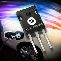 ON Semiconductor Offers AFGHL50T65SQDC Hybrid IGBT That Uses SiC Schottky Diode Technology