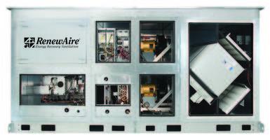 DN Series Outdoor Air System Exhibits a Near-Zero Exhaust Air Transfer Ratio