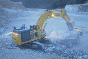 Komatsu Offers PC1250SP-11 and PC1250LC-11 Hydraulic
