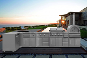 Thor Kitchen Offers 8-Piece Modular Kitchen Suite is ETL Rated for Outdoor Use