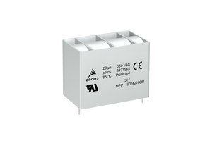 New B32354S3 AC Filter Capacitors Designed for a Rated Voltage of 350 V AC