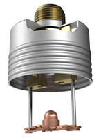 Viking Offers Model VK496 Concealed Pendent Sprinkler for NFPA 13D Residential Systems