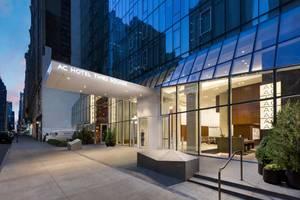 AC Hotel in Times Square Installs Custom Boon Edam Revolving Door