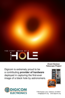 Digicom Electronics' ROACH System Captured the Data that Enabled Scientists to See the First Image of a Black Hole