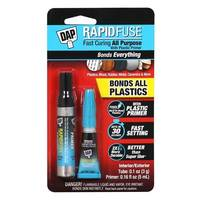 Latest DAP RapidFuse Plastic Primer Kit Forms Water-Resistant Bond for Both Exterior and Interior Use