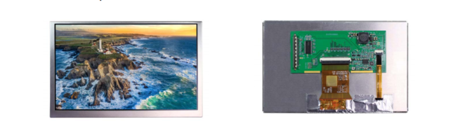New TFT Display Available with Wide Screen (15:9) Display in High Resolution of 800X480