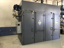 Sahara Oven Ships Custom Drying/Curing Oven to Electrical Transformer Manufacturer