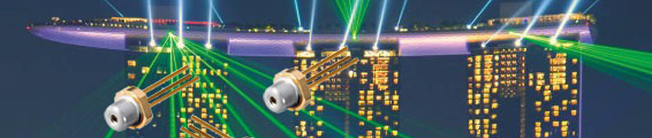 Latest InGaN Green Laser Diodes Can be Operated in Temperatures Up to 85 Degree Celsius