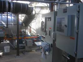 New 4 Direct Fired Air Heater Provides Hot Gas to Drying System
