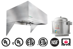 Latest UL710 Listed Hoods Eliminate Need for Factory Cut Duct Connections