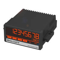 New Touch-Screen Digital Panel Meters Provide DC Sensor Supply