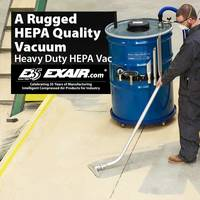 Latest HEPA Vacuum Designed to Move More Material with Less Wear