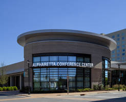 Boutique Hotel at Avalon and Alpharetta Conference Center Completed with AGC Glass ENERGY Select® 28
