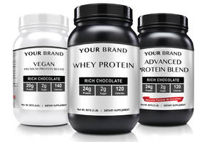 New Protein Powders are Available in Rich Chocolate or Creamy Vanilla Flavors