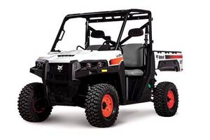 Bobcat Offers Diesel Utility Vehicles That Accommodate Hauling of Light-Duty Trailers