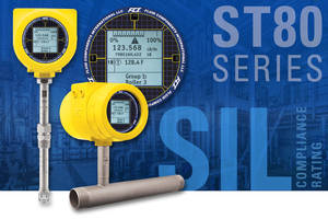 Latest ST80 Series Thermal Mass Flow Meter Comes with Adaptive-Sensor Technology