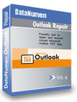 Latest DataNumen Outlook Repair 6.6 Software Recovery Tool Recovers Damaged PST Files