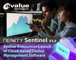 Avalue Releases Renity Sentinel V3.0 Management Software That Prevents Unintended and Malicious Actions