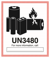 Printingworx Offers Hazmat Lithium Battery Warning Labels in Standard Sizes and Construction