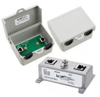 L-com Releases Cat6a Lightning and Surge Protectors for Communication Equipment Protection