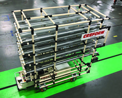 New Creform AGV and Flow Rack System Creates an Array of Material Handling Devices