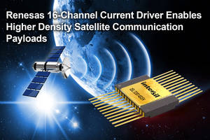 New ISL72814SEH Current Driver Features Current Output up to 700mA